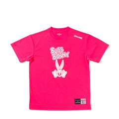 スポルディング Tシャツ BUGS BUNNY【SMT171300 PNK】