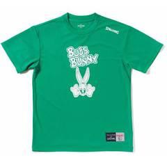スポルディング Tシャツ BUGS BUNNY【SMT171300 GRN】
