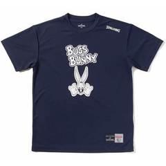 スポルディング Tシャツ BUGS BUNNY【SMT171300 NV】