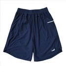 Mewship50【LOGO street shorts】(Navy×White)