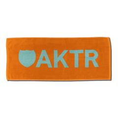 AKTR SPORTS TOWEL LOGO OR