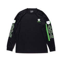 AKTR BASKETBALL L/S SPORTS TEE BLACK