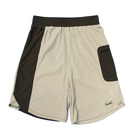 Mewship50【LOGO street shorts】(Beige×Khaki)