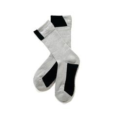 Mewship50【90 socks 019】(ASH×BK×WH)