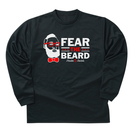 FEAR THE BEARD L/S TEE BK