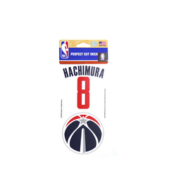 NBA HACHIMURA8&TEAM LOGO DECAL【10259PKG】