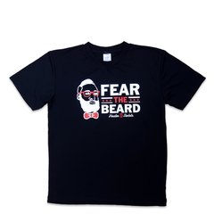 FEAR THE BEARD TEE BK