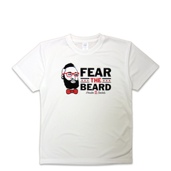 FEAR THE BEARD TEE WH
