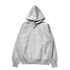 Mewship50【BASIC LOGO 019】pullover (GY×WH)
