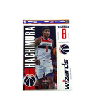 NBA DECAL 4pcs【#8 Rui Hachimura/Wizards】