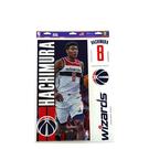 NBA DECAL 4pcs【#8 Rui Hachimura/Wizards】