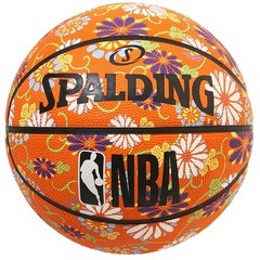 SPALDING キク ラバー 6号球 NBAロゴ入り【84-061J】