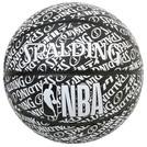 SPALDINGタイポグラフィー ラバー 7号球【84-074J】
