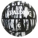 SPALDING NBA ロゴマン マーブル ブラック ラバー 7号球【84-093J】