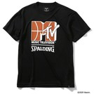 SPALDING MTV バスケットボール Tシャツ【SMT200010 BK】