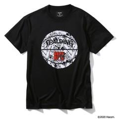 SPALDING Tシャツ MTV イベントパス【SMT200060 BK】