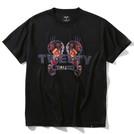 SPALDING Tシャツ トゥイーティー フラワー【SMT200520 BK】