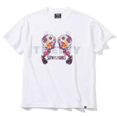 SPALDING Tシャツ トゥイーティー フラワー【SMT200520 WH】