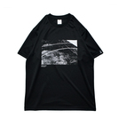 Mewship50 Home court S/S PL (Black×White)