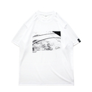 Mewship50 Home court S/S PL (White×Black)
