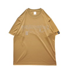 Mewship50 Lake of zone S/S PL (Coyote×Beige×White)