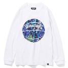 スポルディング ジュニアロングスリーブTシャツWH【SJT201680】