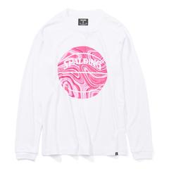 スポルディング ロングスリーブTシャツWH 【SMT201080】