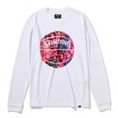 スポルディング ロングスリーブTシャツWH×PK【SMT201110】