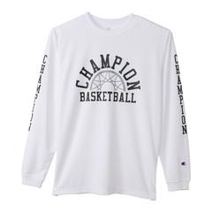 チャンピオン プラクティスロングスリーブTシャツ【C3-SB411 010】