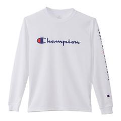 チャンピオン キッズプラクティスロングスリーブTシャツ【CK-SB418 010】