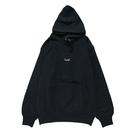 Mewship50 BASIC LOGO 019 pullover <Black×G.Beige>