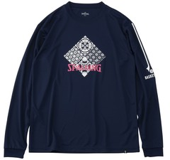 Spalding ロングスリーブTシャツ スカンジナビアン スクエア【SMT191240】