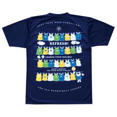 チームファイブ 昇華Tシャツ「リフレッシュ!」【AT-9201】