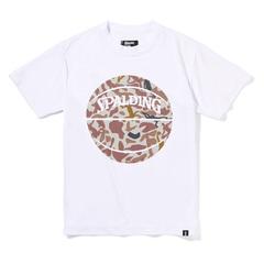 Spalding ジュニアTシャツ ボーラーカモ【SJT210510】