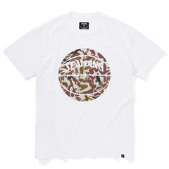 Spalding Tシャツ ボーラーカモ【SMT210100】