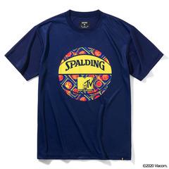Spalding Tシャツ MTV ミュージックミキシング 【SMT210340】