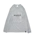 Mewship50 Portland soul 21 L/S CT <Gray×White>