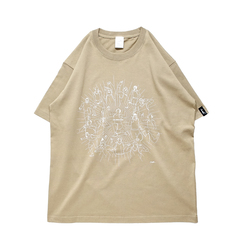 Mewship50 Celebration S/S CT <S.Beige×White>