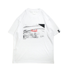 Mewship50 Homecourt 21 S/S PL <White×Black×R.Orange>