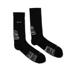 AKTR LOGO NEO FUTURE SOCKS BLACK【521-003021】