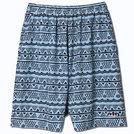 AKTR ISLAND BORDER21 SHORTS L-BLUE【221-071002】