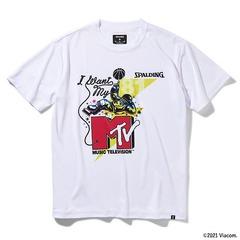SPALDING MTV Tシャツ ポーズ ホワイト 【SMT211500】