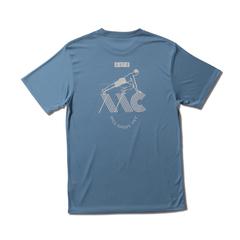 AKTR AAC TRAINING ICON SPORTS TEE BLUE