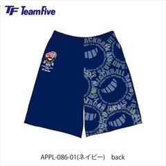 チームファイブ ブラックホール10周年 ネイビー 【APPL-086-01】
