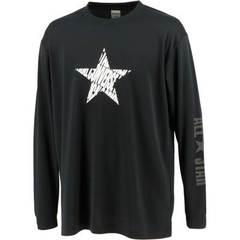 コンバース 星柄プリントロングスリーブTシャツ【CB212358L 1911】