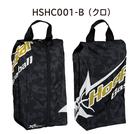 フープスター 昇華シューズケース ブラック【HSHC001-B】