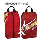 フープスター 昇華シューズケース レッド【HSHC001-R】