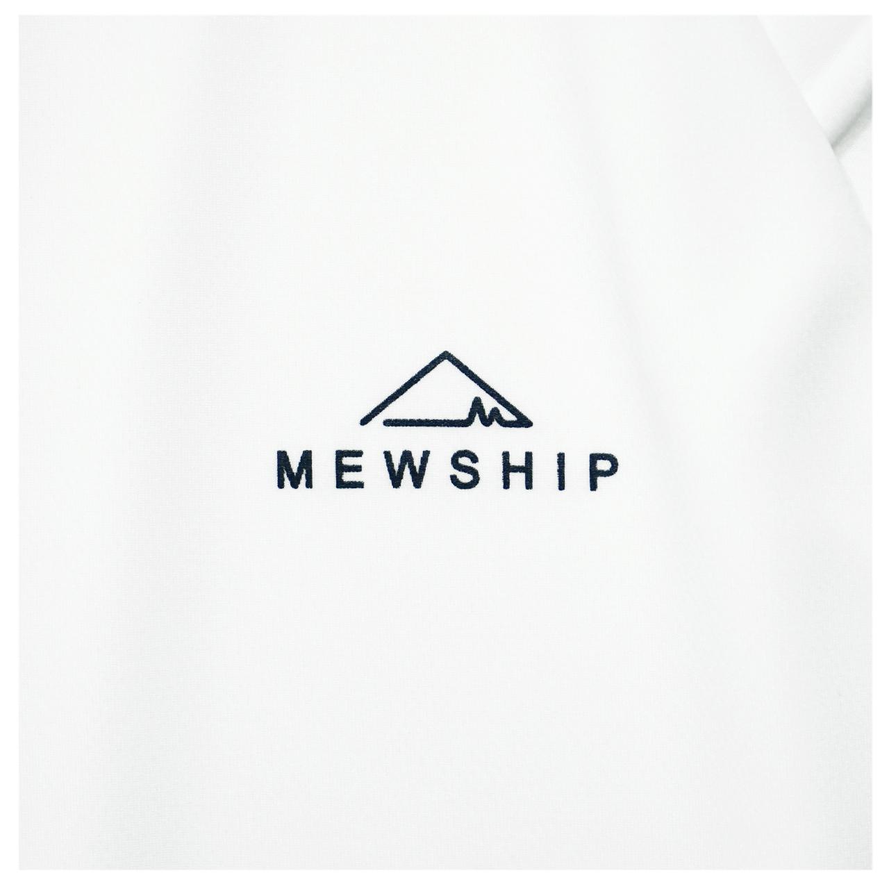 Mewship50 BASE LOGO S/S PL