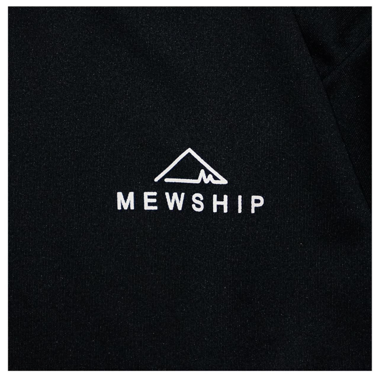 Mewhip50 BASE LOGO S/S PL <Black×O.White>