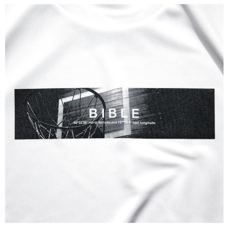 Mewship50【BIBLE】L/S PL(WH×BK)